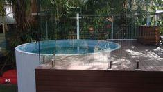 3.45m above ground Australian Plunge Pool