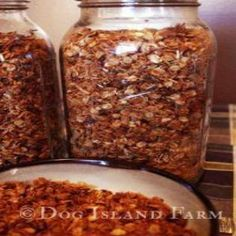 A Granola Recipe to Feed the Masses - Homesteading and Livestock - MOTHER EARTH NEWS (instead of honey use plant based sweeter of choice)
