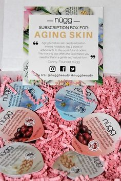 New! #NuggBeauty Mask Subscription Box!