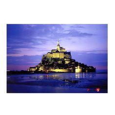 Jigsaw Puzzle 1000 Mont Saint Michel by KOREA Blue Castle BC541 #BlueCastle