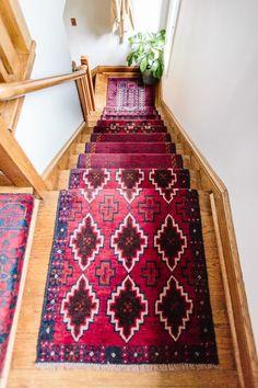 DIY Stair Runner