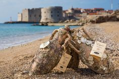 A blend of tradition, sea and wine - undersea wine Navis Mysterium. Underwater wine, amphora and bottle. Visit Edivo Wine Bar and its underwater winery. Best Places To Eat, Places To Travel, Travel Destinations, Italy Culture, Grape Plant, Visit Croatia, Croatia Travel, Adriatic Sea, Visit Italy