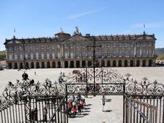 w Louvre, Building, Travel, Santiago De Compostela, Viajes, Buildings, Destinations, Traveling, Trips