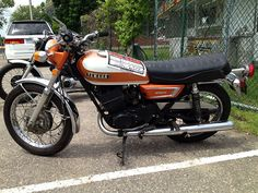 Vintage Yamaha Motorcycle