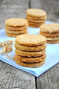 Ciasteczka na mące pełnoziarnistej to świetna alternatywa dla wszystkich  ciasteczek na zwykłej białe mące. Są nie tylko dużo zdrowsze...