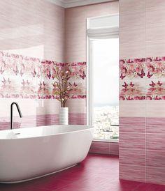 Коллекция «БАТТЕРФЛЯЙ» Само название коллекции говорит за себя. Нежная, в розовых тонах, наполненная трепетом легкокрылых бабочек, порхающих над цветами и водой, коллекция «Баттерфляй» привлечет внимание и привнесет в помещение атмосферу легкости и красоты. Bathtub, Bathroom, Standing Bath, Washroom, Bathtubs, Bath Room, Bath, Bathrooms, Bath Tub