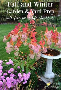 Help your fall and winter garden thrive - not just survive - with a few simple tasks you can do to prepare for the colder months. Includes a free printable checklist to help guide you! garden prep Fall and Winter Garden & Yard Prep + Printable Checklist! Autumn Garden, Easy Garden, Summer Garden, Gardening For Beginners, Gardening Tips, Gardening Vegetables, Growing Winter Vegetables, Oregon, Garden Projects