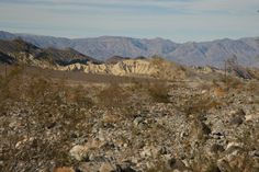 Death Valley, California, diciembre 2013