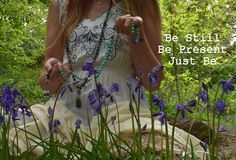 Mala Beads Meditation and Mindfulness... Be Still, Be present, Just be...