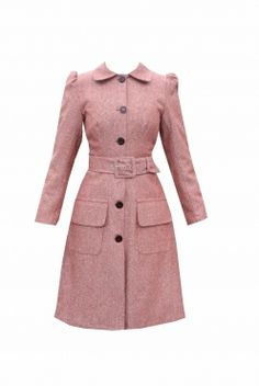 winter in a 1940s coat :) another Tara Starlet special £150.00