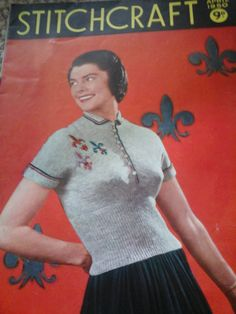 vintage stitchcraft by HABERDASHERYHAVEN on Etsy
