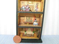 Dollhouse miniature dollhouse toy 1:48 QS Quarter Inch Scale