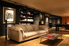"""This ultimate bachelor pad in Sao Paolo, Brazil was created by architect Carol Leães.                                                   Posted on   Tue, 8 May 2012 by   kim  5 Comments                                                                            In keeping with the maculine/bachelor pad theme, the following """"man cave"""" in Sao Paolo, Brazil was created by architect Carol Leães"""