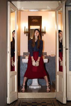 Factice Magazine March 2017 Liza Martynchik by Saint Yvy - Fashion Editorials