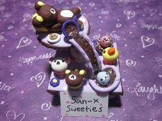 Polymer clay San-x Sweeties by Darklunax110.deviantart.com on @deviantART