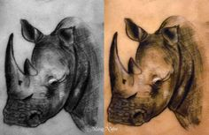 Google Image Result for http://bushwarriors.org.s130414.gridserver.com/wp-content/uploads/2011/02/rhino-tattoo-by-marco-nobre.jpg  i need a new tattoo!