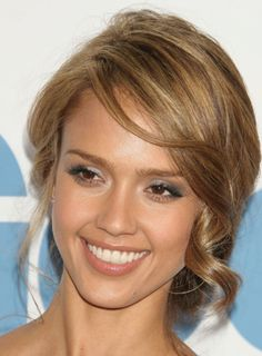 Caramel colored hair- my next look?!  Thinking about it