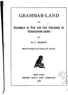 Waldorf ~ 4th grade ~ Grammar ~ Grammar-land Book ~ free online ~ Worksheets here ~ https://docs.google.com/#folders/0B97VumpziE6VZDdhZGQ0YmYtNzhiMi00NTU2LTk3YzItOTNlOGYwNWIyOGRj