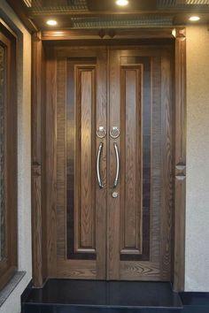 Double Door Design Main Interior Gate Wooden