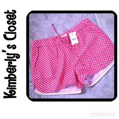 """🆕 🛍J. CREW🛍 shorts J. CREW printed pull on shorts.  Brand new with tags.  Size XXS - fits size 0-2.  Rose pink color.  55% linen/45% cotton. Sits just above hip. 2"""" inseam. Elastic waistband w/drawstring  Slant pockets. Machine wash. J. Crew Shorts"""