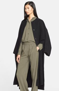 Helmut Lang Double Face Cashmere Coat available at #Nordstrom