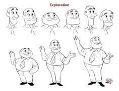 ArtStation - Teacher Character Design, Luigi Lucarelli