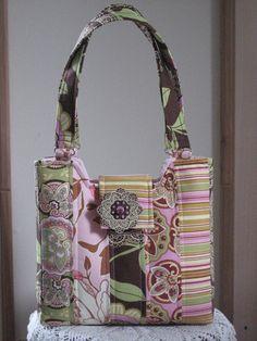 Bucket bag | by antiquebasketlady