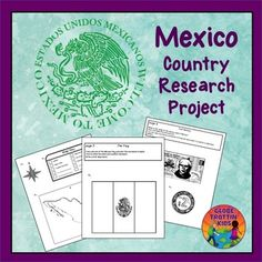 Mexico printables for kids