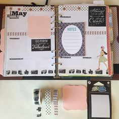 These inserts would look good in a  Nude Filofax Original