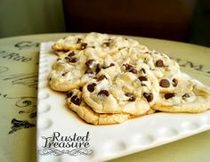 Rusted Treasure: (Christmas Cookie Series) Chocolate Chip Cake Cookies