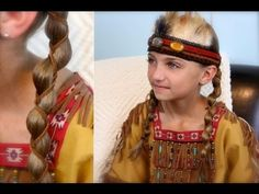 Leather Accent Loony Braids | Cute Girls Hairstyles