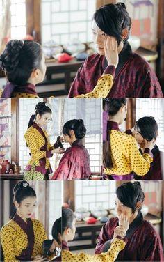 """"""" Lee Joon Gi (Wang So) and Lee Ji Eun (Hae Soo) Still cuts! Princess Wei Yang, Scarlet Heart Ryeo Wallpaper, Pink Fuzzy Sweater, Hong Jong Hyun, Kang Haneul, Cinderella And Four Knights, Best Kdrama, Wang So, Most Handsome Actors"""