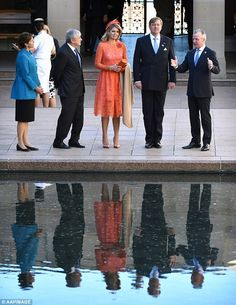 King Willem-Alexander and Queen Maxima Visit Australia – Day 3