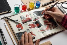 Artists Imagine a Shoe for the Teenage Mutant Ninja Turtles