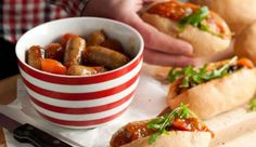 'Posh dogs' - Add a touch of class to the average hot dog. #BudgetFriendly #Mains #Recipe