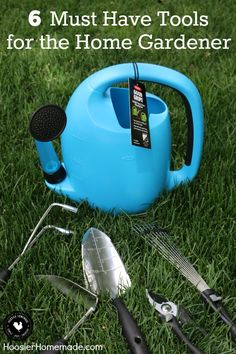 6 Must Have Tools for the Home Gardener