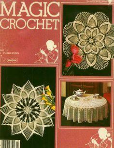 Magic Crochet nº 22 - leila tkd - Álbuns da web do Picasa
