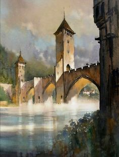 Watercolor by Thomas Schaller