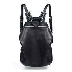Spiro Black Harness Backpack - TEO+NG