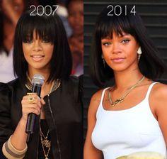 Estilo Rihanna, Rihanna Style, Black Girls Hairstyles, Bob Hairstyles, Curly Hair Styles, Natural Hair Styles, Hair Laid, Rihanna Fenty, Cute Cuts