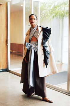 She's amazing. Tome Unveils a Summer-Perfect Capsule Collection Starring Tessa Thompson