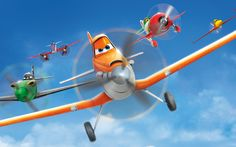 "Enter to win a copy of ""Planes"" on Blu-ray and DVD, the Nintendo DS game, the book based on the film, and a Dusty model airplane. #utcontests"