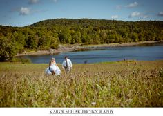 Autumn After Wedding Session, Connecticut Wedding Photograph
