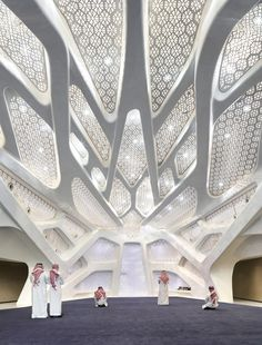 Gallery of King Abdullah Petroleum Studies and Research Centre / Zaha Hadid Architects - 10