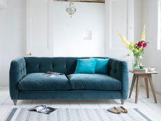 Happy sofa in a bespoke fabric