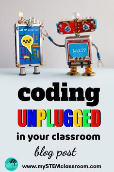 Unplugged Coding in the classroom Coding For Kids, Math For Kids, Science For Kids, Science Activities, Activities For Kids, Science Resources, Science Experiments, Educational Activities, Teaching Kids