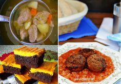 Tip na nedeľný obed | Paradajková kapusta s fašírkami z muffinovej formy a Čoko-tekvicové brownies