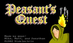 Peasants Quest Will Brighten Up Your Day... #Retrogaming