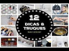 12 TRUQUES DE LIMPEZA E ORGANIZAÇÃO QUE VOCÊ DEVERIA SABER    Organize s...
