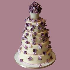 Wedding cake by Kathy Dvorski Cakes